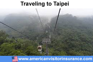 Buy visitor insurance for Taipei