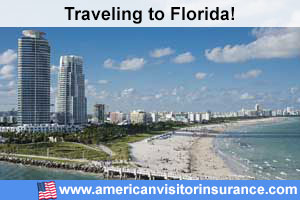 Buy visitor insurance for Florida