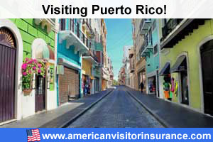 Buy travel insurance for Puerto Rico