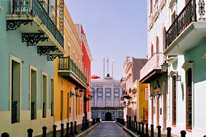 old-san-juan in Puerto Rico