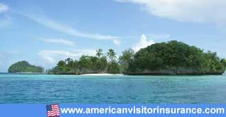 Travel insurance for Palau