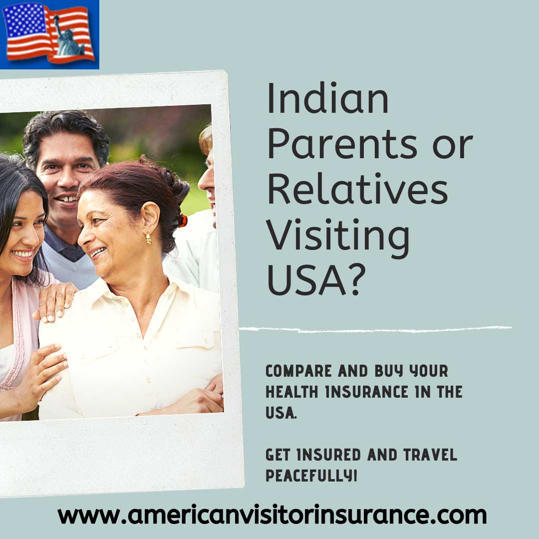 travel insurance for parents visiting USA