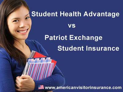 Patriot Exchange vs Student Health Advantage Insurance