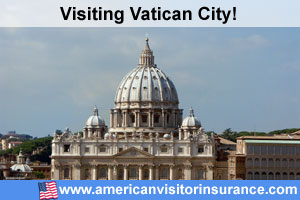 Buy travel insurance for Vatican