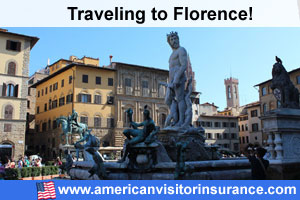 Buy visitor insurance for Florence