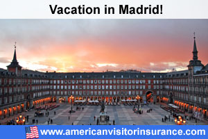Madrid travel insurance