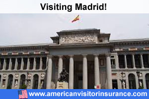 Buy travel insurance for Madrid