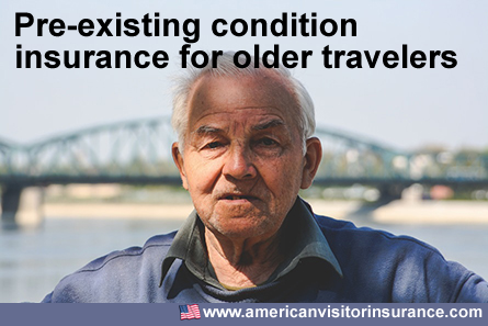 Travel Health Insurance Coverage for Pre-Existing Conditions for Older Travelers