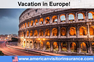 Travel healtha insurance visiting for Europe