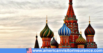 Travel insurance for Russia