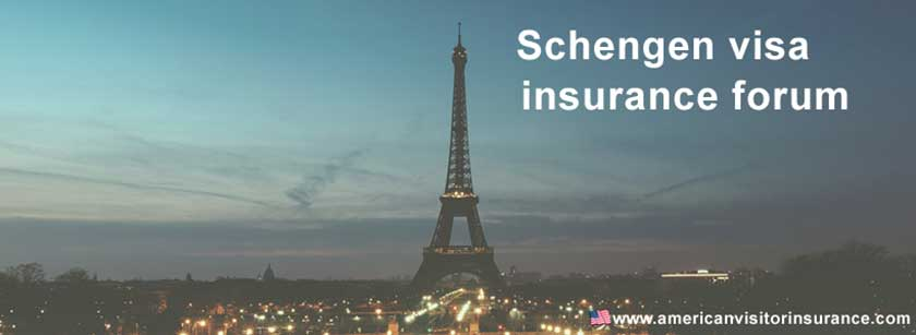 schengen visa insurance forum