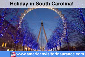 Travel insurance for South Carolina