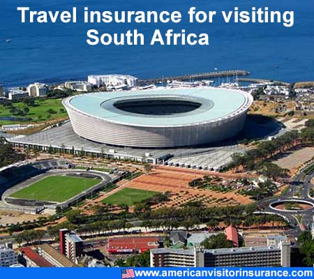 travel insurance for visiting South Africa