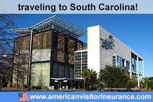 Buy visitor insurance for South Carolina