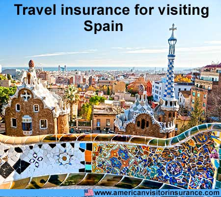 travel insurance for visiting Spain