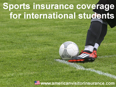 sports coverage for international students