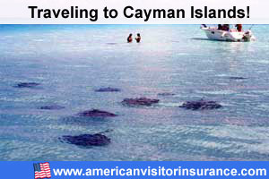 Buy visitor insurance for Cayman Islands