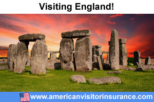 buy travel insurance for England