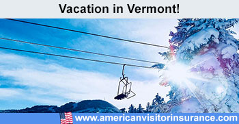 Travel insurance for Vermont