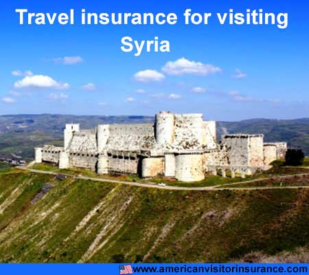 travel insurance for visiting Syria