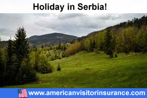 Travel insurance visiting europe for Serbia