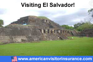 Buy travel insurance for El Salvador