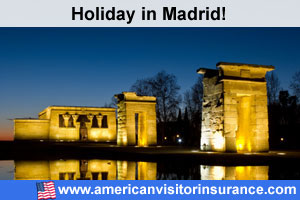 Travel insurance Madrid