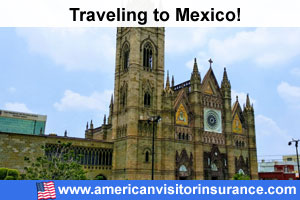 Buy visitor insurance for Mexico