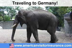 Buy visitor insurance for Germany