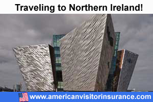 Buy visitor insurance for Northern Ireland