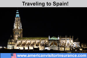 Buy visitor insurance for Spain