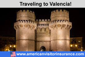 Buy visitor insurance for Valencia