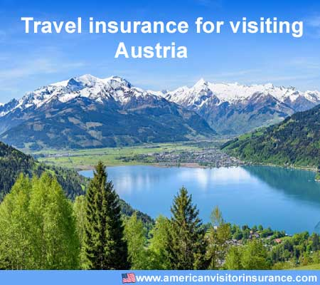 travel insurance for visiting Austria
