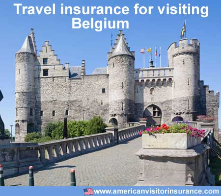 travel insurance for visiting Belgium