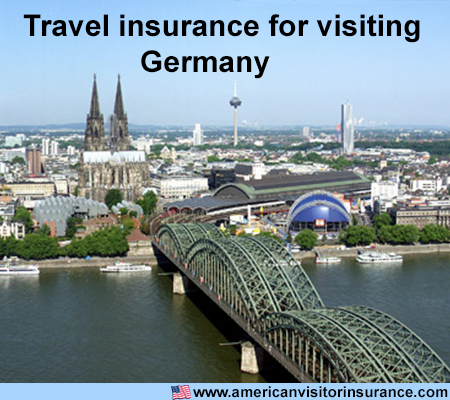 travel insurance for visiting Germany