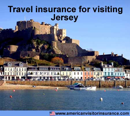 travel insurance for visiting Jersey