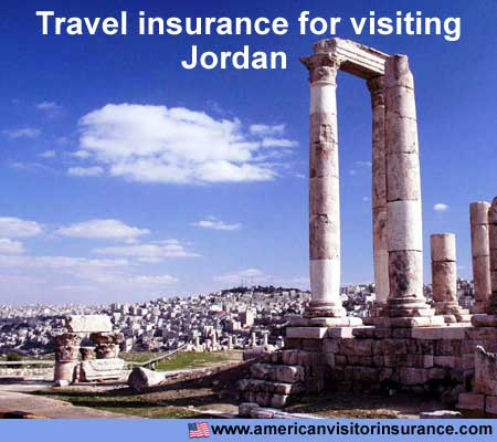 travel insurance for visiting Jordan