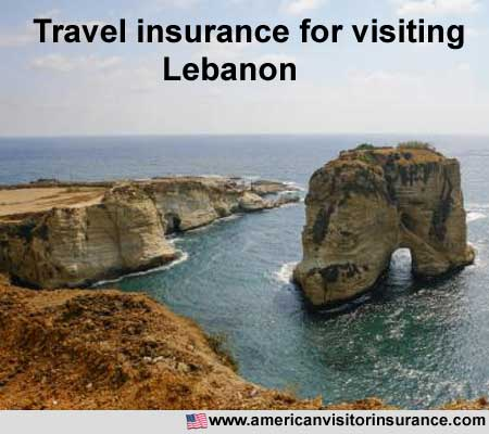 travel insurance for visiting Lebanonese