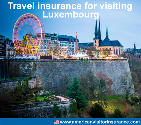 travel insurance for visiting Luxembourg