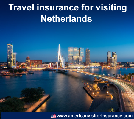 travel insurance for visiting Netherlands
