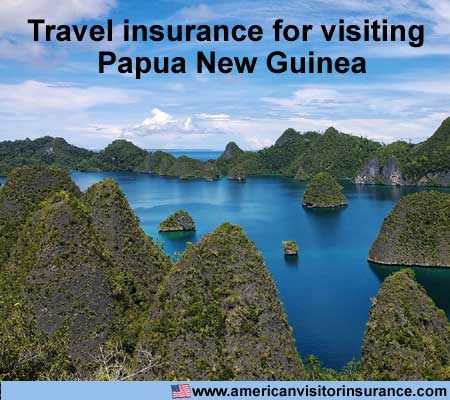 travel insurance for visiting Papua New Guinea