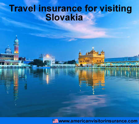 travel insurance for visiting Slovakia