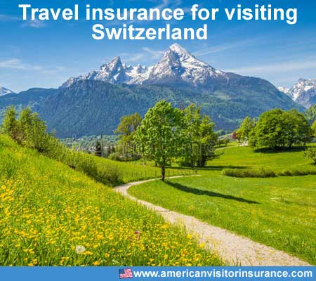 travel insurance for visiting Switzerland