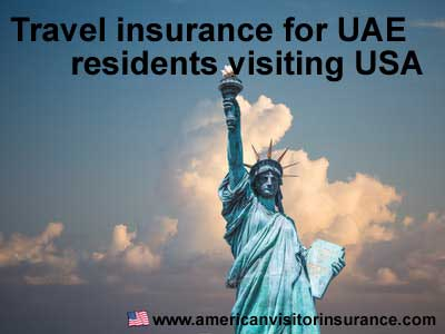 Travel insurance for UAE residents visiting USA
