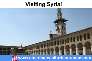 Buy travel insurance for Syria