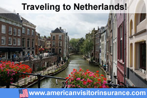 Buy visitor insurance for Netherlands