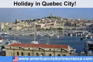 Travel insurance for Quebec City