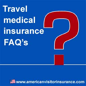 visitor health insurance faq's