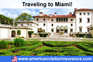 Buy visitor insurance for  Miami