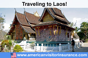 Buy visitor insurance for Laos